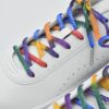 虹色の靴紐