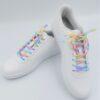 虹色の靴紐 おしゃれな靴紐